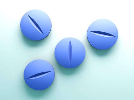 pharmaceutics: 3D rendered Illustration.
