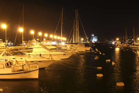 Harbor in Punta del Este, Uruguay, South america. Stock Photo