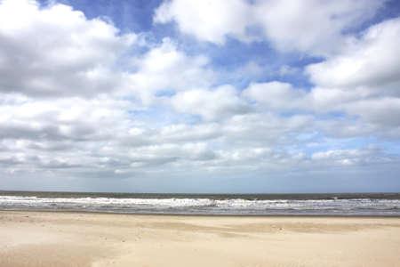 ignacio: Storm over the beach in Jose Ignacio, Uruguay.