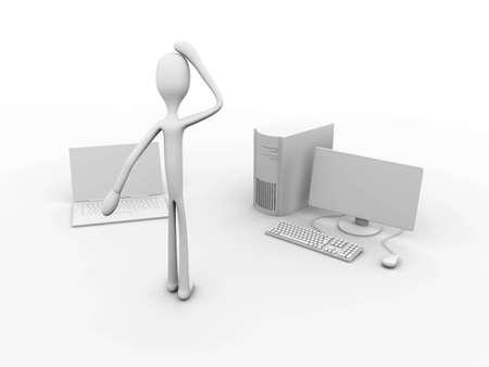 3D rendered Illustration. Isolated on white. Stock Illustration - 7172284