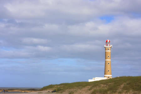 ignacio: The famous lighthouse in Jose Ignacio, Uruguay, South america.