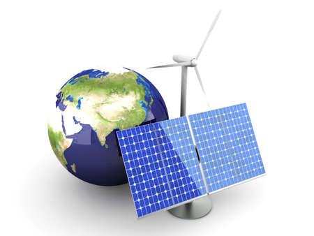 turbina: 3D representa la ilustraci�n. Aislados en blanco.