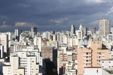 Skyline of Sao Paulo, Brazil. photo