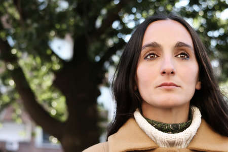 Dark Portrait of a woman. Stock Photo - 7739319