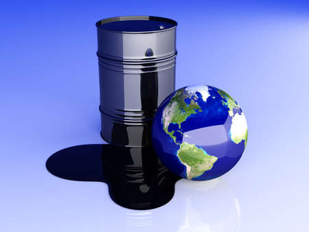 spill: 3D rendered Illustration.