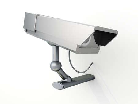 vigilance: 3D rendered Illustration.