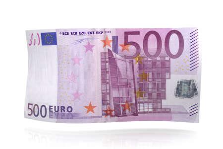 valuta: 500 Euro Note.  Stock Photo