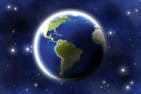 Planet earth. photo