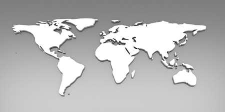 continente: Ilustración 3D. Instalación de relámpago desequilibrado.