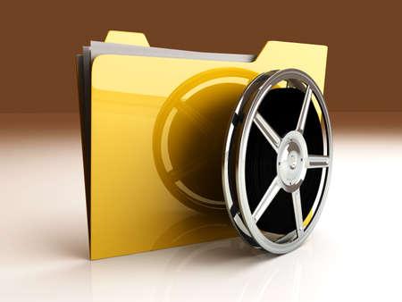 film editing: 3D rendered Illustration.