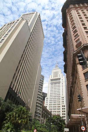 Buildings in Downtown Sao Paulo, Brazil.  photo