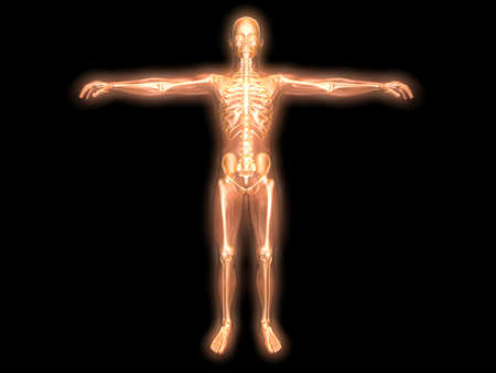 mind body soul: 3D rendered visualization of the energy  astral body.