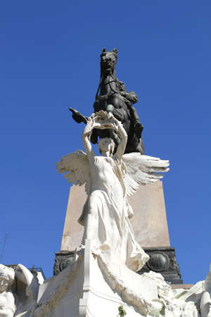 bartolome: Historical Monument of Bartolome Mitre in Buenos Aires, Argentina, South america.