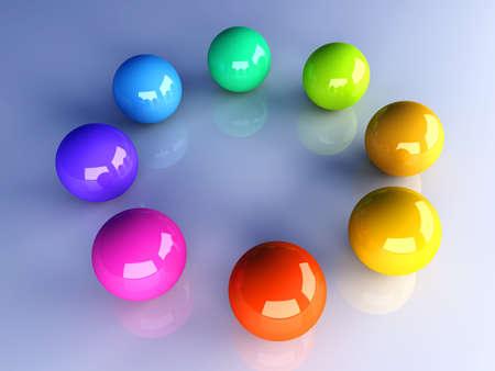 3D rendered Illustration.  Stock Illustration - 9792778