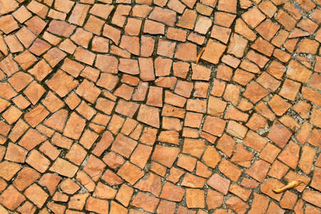 road block: A antique stone floor Background.