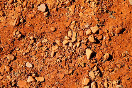 Red earth of Argentina, South america.  photo