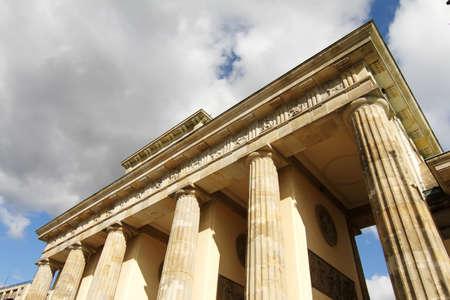 The gate of Brandenburg in Berlin, Germany. Stock Photo - 11300264