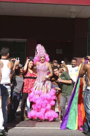 Gay Parade in the Center of Sao Paulo, 06.06.2010. Stock Photo - 11767787