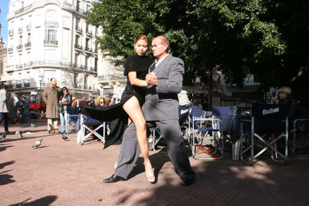 tangoing: Tango Dancers in Buenos Aires.