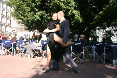 buenos: Tango Dancers in Buenos Aires.