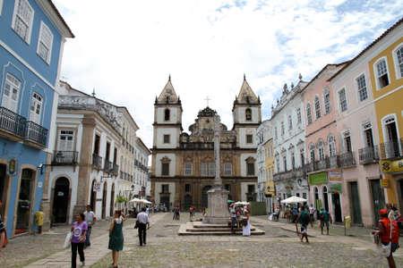 amerique du sud: Salvador de Bahia, au Br�sil, Am�rique du Sud.