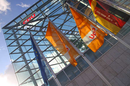 headquarter: The headquarter of the german political Party CDU in Berlin, Germany.