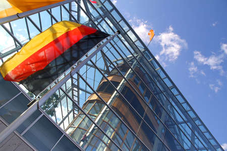 quartier g�n�ral: Le si�ge de la CDU allemande politique Parti � Berlin, Allemagne.