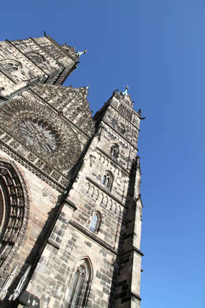 The Cathedral of Saint Lorenz in Nuremberg, Germany. photo