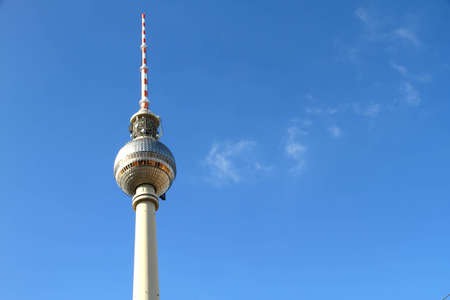 The TV Tower located on the Alexanderplatz in Berlin, Germany. Stock Photo - 12723697