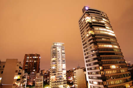 Night view on the skyline of Buenos Aires, Argentina   photo