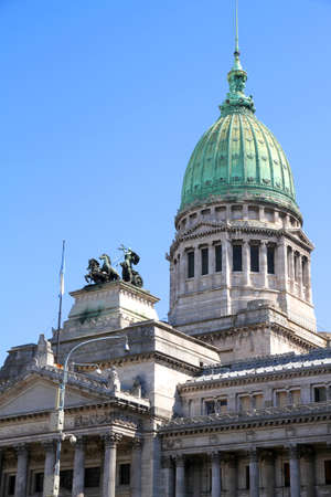 The Congress building in Buenos Aires, Argentina Stock Photo - 12941516