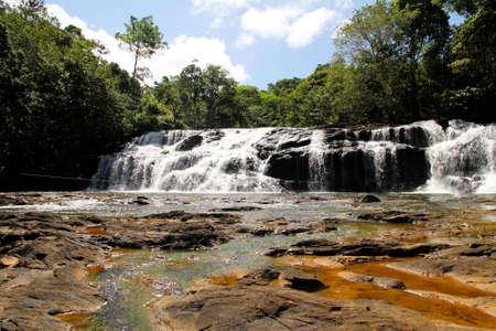 grande: Waterfall in Serra Grande, Bahia, Brazil, South america  Stock Photo
