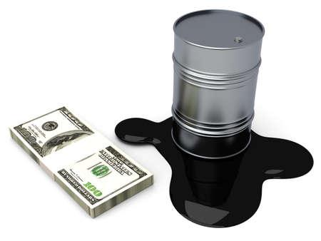 commodities: Oro y el petr�leo, dos productos en el mercado burs�til 3d rindi� la ilustraci�n