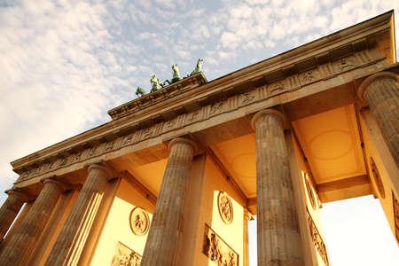 The gate of Brandenburg in Berlin, Germany  photo