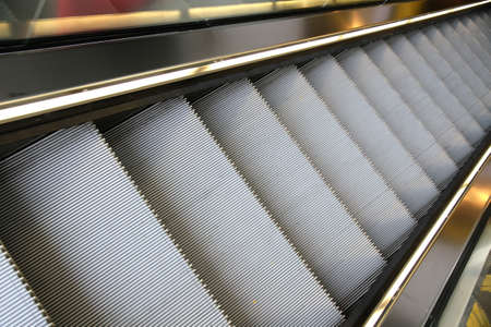 Photo of a modern escalator  photo