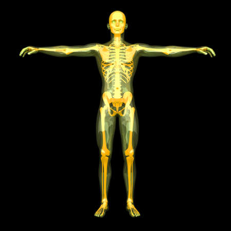 3D rendered visualization of the energy   astral body  photo