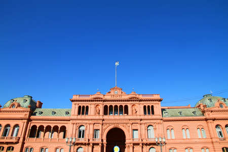 governmental: The  Casa Rosada , the governmental building in Buenos Aires, the Capital of Argentina