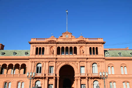 The  Casa Rosada , the governmental building in Buenos Aires, the Capital of Argentina  photo