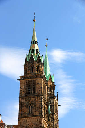 The Cathedral of Saint Lorenz in Nuremberg, Germany Stock Photo - 15556644