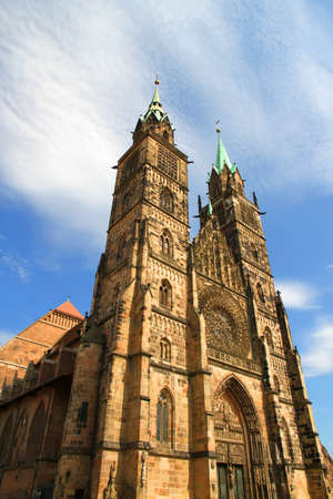 The Cathedral of Saint Lorenz in Nuremberg, Germany  photo