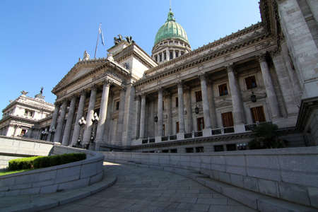 The Congress building in Buenos Aires, Argentina