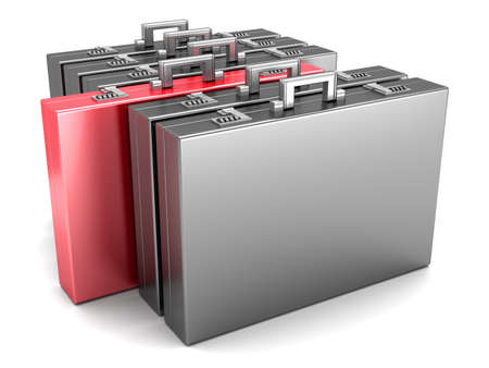 A special Briefcase  3D rendered Illustration  illustration