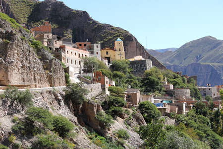 little town: The little town of Iruya in Salta, Argentina, South america