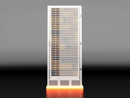 fileserver: 3D rendered Illustration   Stock Photo