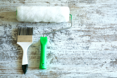 Painting Tools for home renovation.