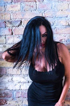 Mature woman portrait Stock Photo