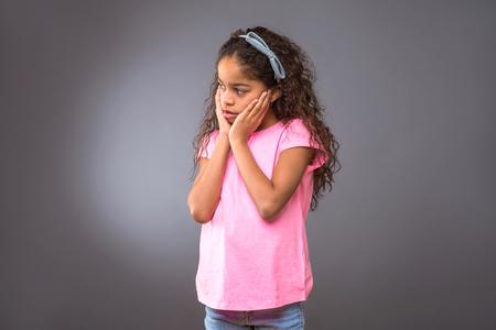 Black teenage girl Reklamní fotografie
