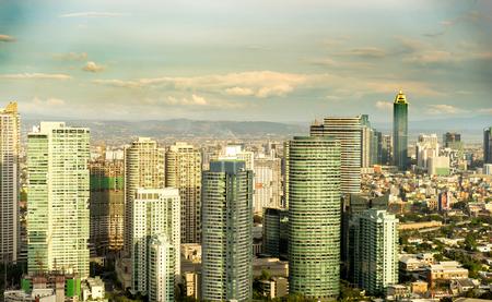Skyline of Manila