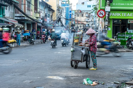 Daily life on the streets of Ho Chi Minh City Editorial