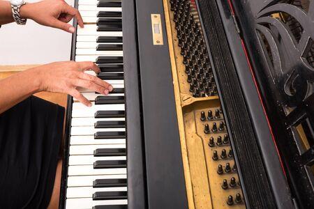 Piano player Archivio Fotografico